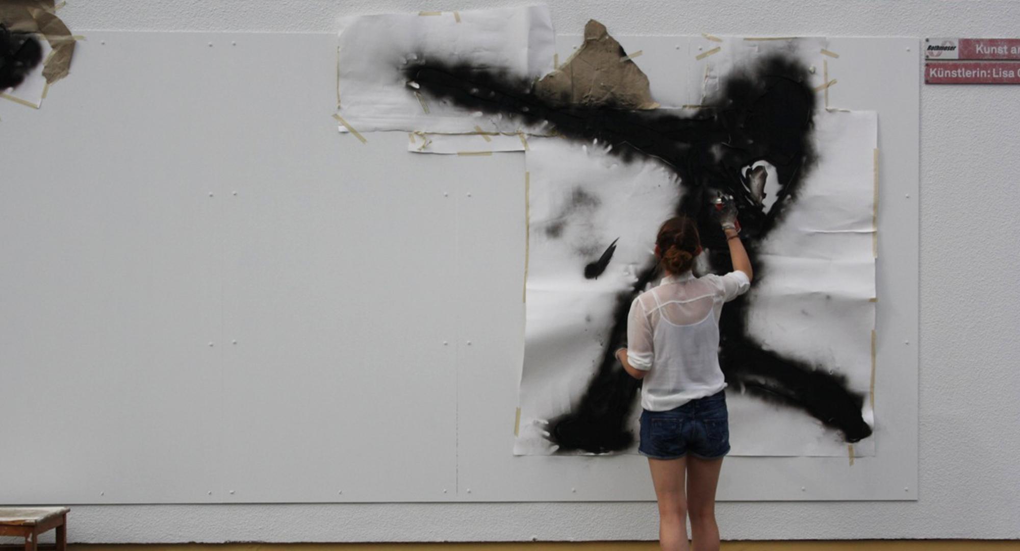 Kunst am Trafo Projekt für das Gymnasium Grafing in Kooperatin mit Rothmoser