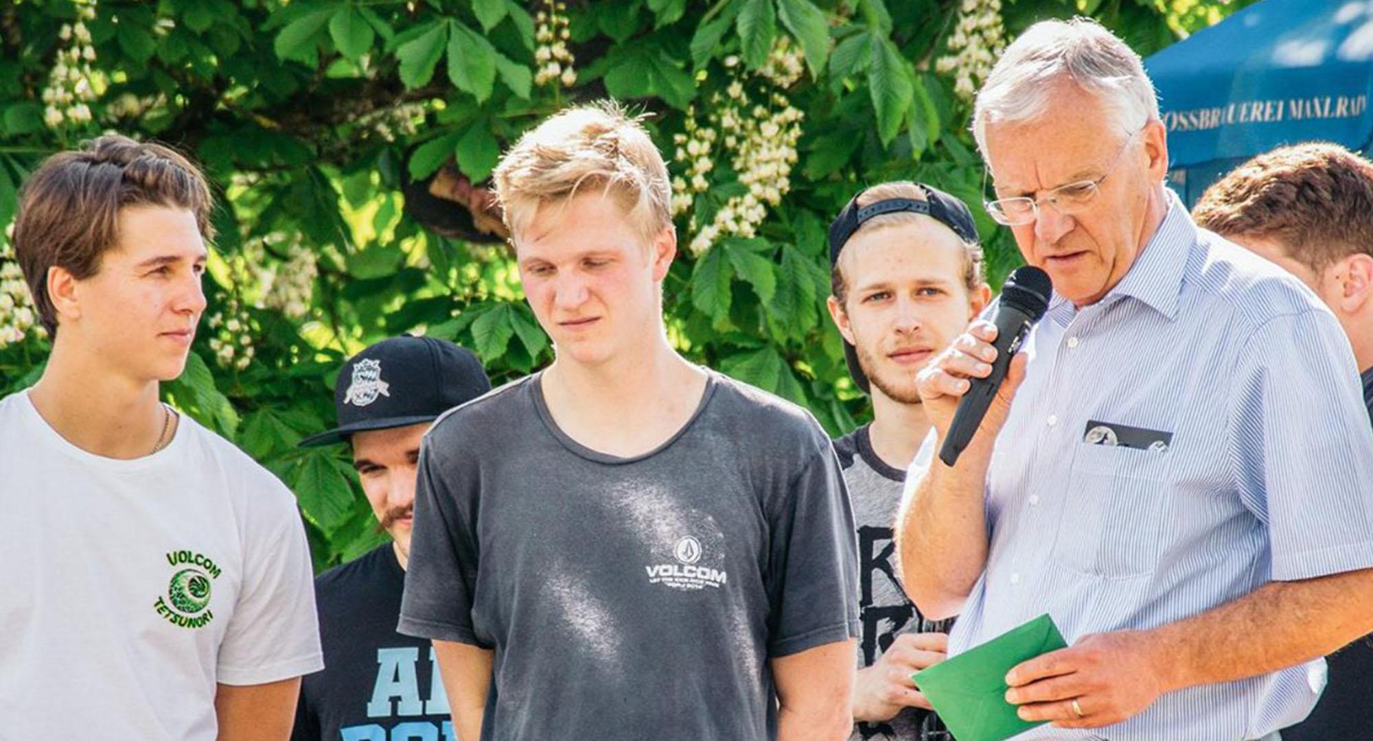 Sponsoring durch Rothmoser beim Sommerfest des Rollsport e.V. in Ebersberg