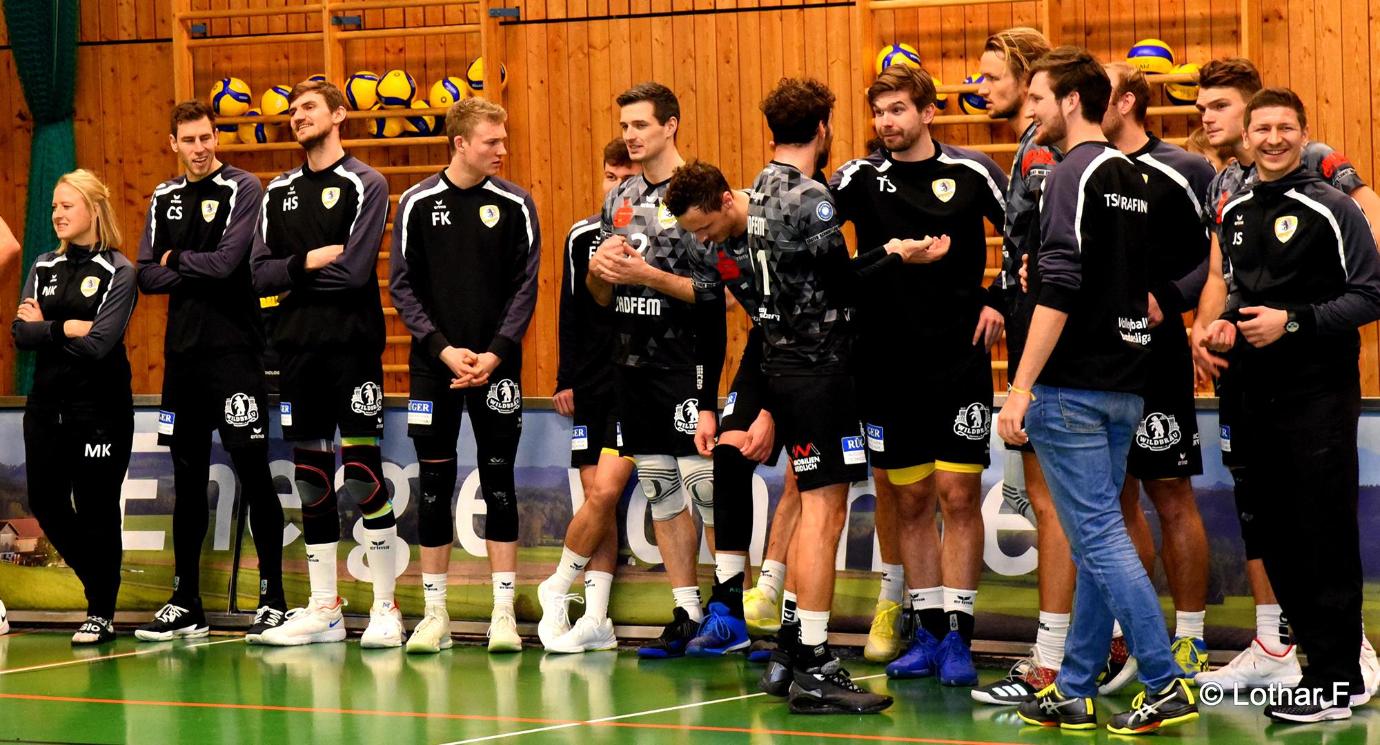 Rothmoser Sponsoring des TSV Volleyball in Grafing