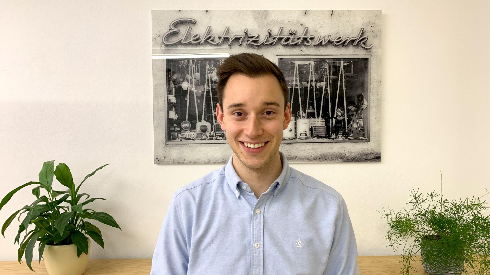 Vorstellung des neuen Mitarbeiters Felix Eiermann